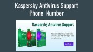 Kaspersky Antivirus Support Phone  Number 1-888-588-9329