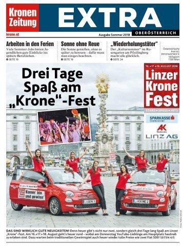 Krone Extra OÖ (Postwurf) 2018-06-06