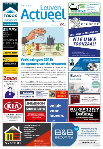 1834 Leuven Actueel - 22 augustus 2018 week 34