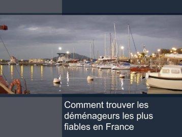 Métropole Déménagement - Comment trouver les déménageurs les plus fiables en France