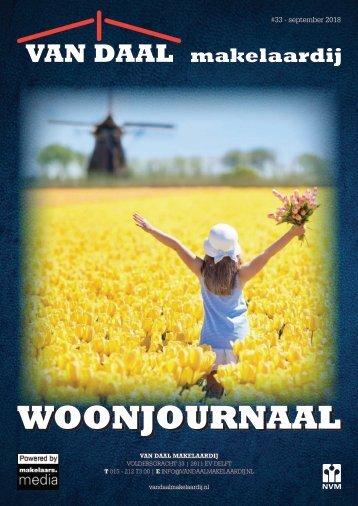 Van Daal Woonjournaal #33, september 2018