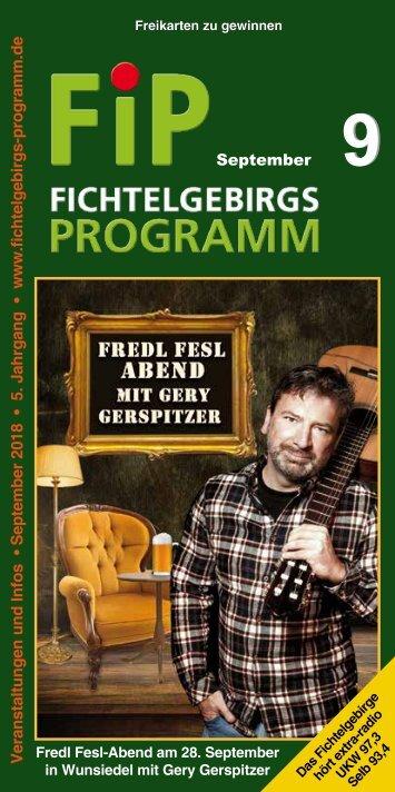 Fichtelgebirgs-Programm - September 2018