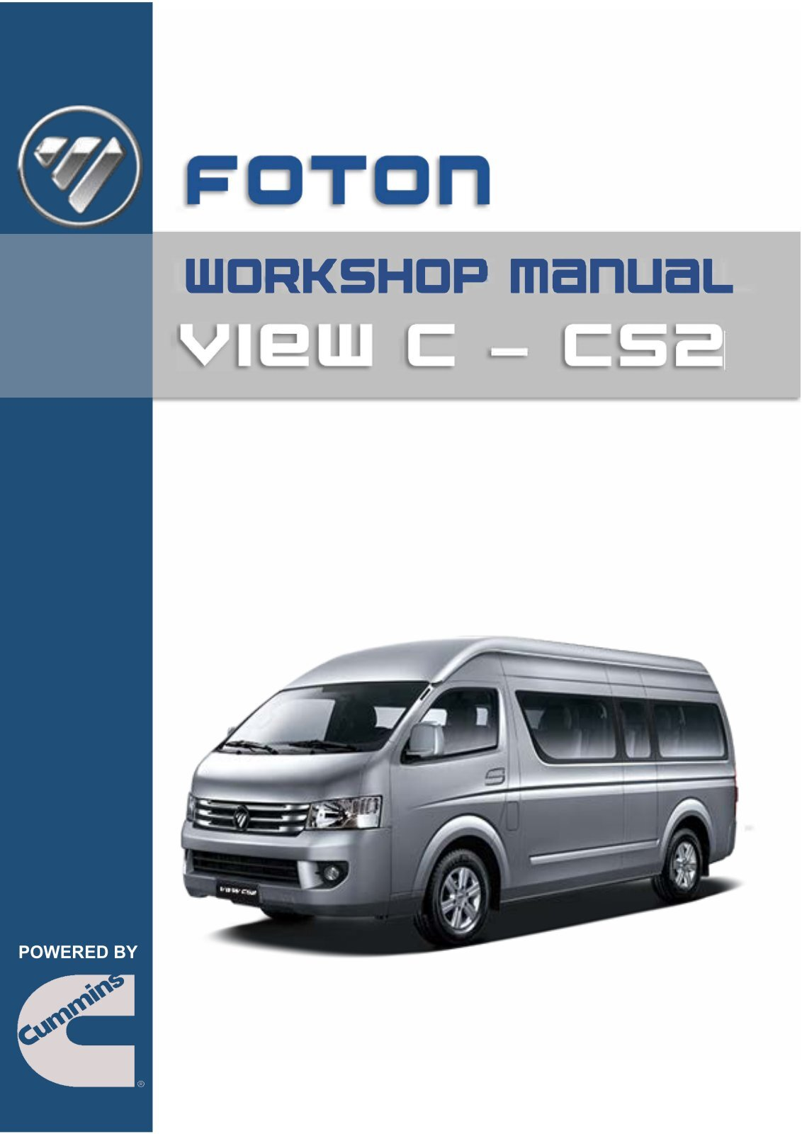 Foton Workshop Manual - View (CS2)
