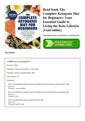 Read book The Complete Ketogenic Diet for Beginners Your Essential Guide to Living the Keto Lifestyle {read online}