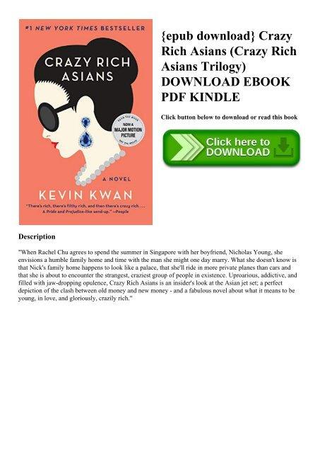 Pdf] download crazy rich asians (crazy rich asians trilogy) ebook.