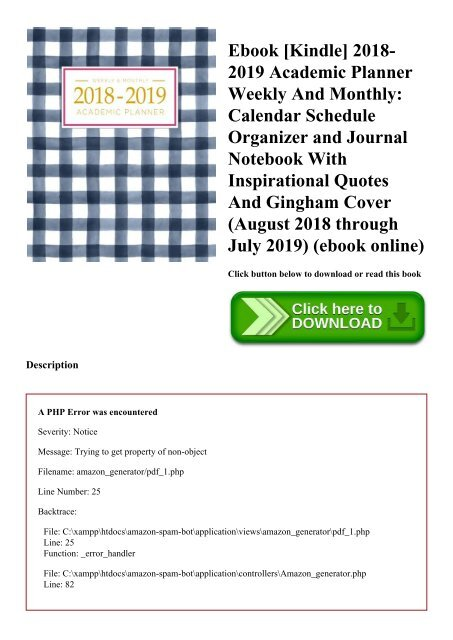 online planner and organizer