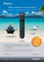 cordless - Grundig Business Systems GmbH