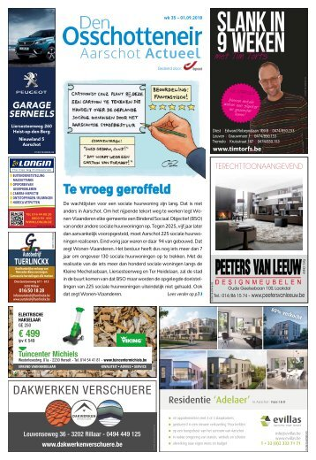 1835 Aarschot Actueel - 1 september 2018 - week 35