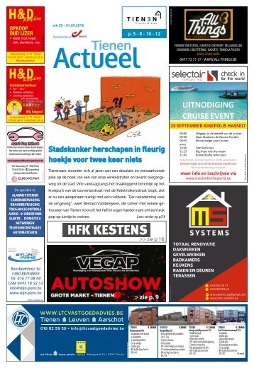 1835 Tienen Actueel - 1 september 2018 - week 35