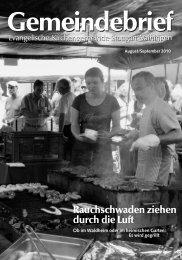 Gemeindebrief - Evangelische Kirchengemeinde Stuttgart-Vaihingen