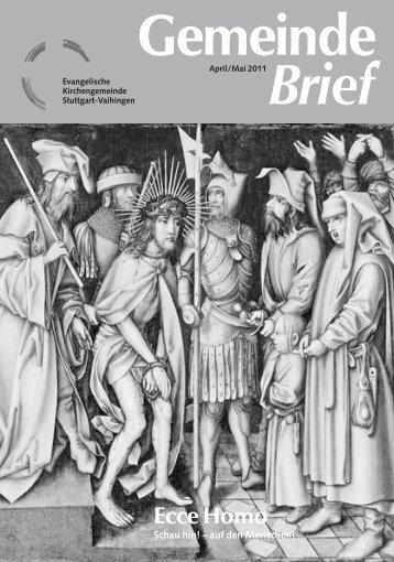 Gemeinde Brief - Ev-Kirche-Stuttgart-Vaihingen.de