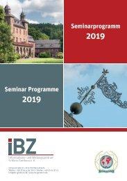 IBZ Gimborn - Seminarprogramme 2019