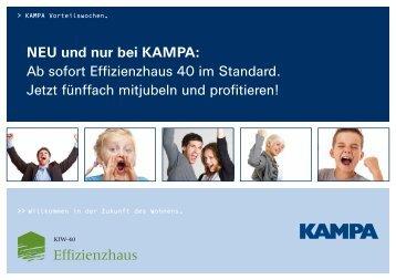 Energiekosten pro Monat* [in EUR] - KAMPA
