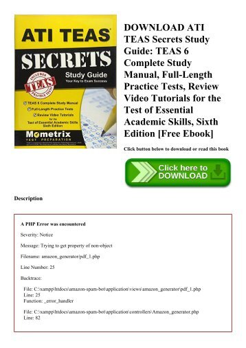 test of essential academic skills teas for ati testing rh yumpu com