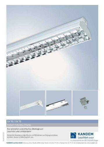 Industriebeleuchtung SV 70 / SV 75 - KANDEM