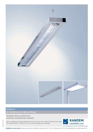Galileo II Architektonische Beleuchtung - KANDEM