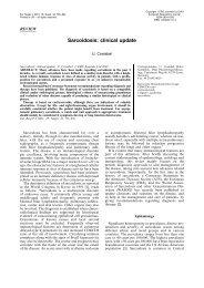 Sarcoidosis: clinical update - European Respiratory Journal