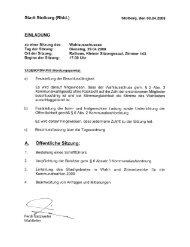 (Rhld.) zu den Kommunalwahlen 2009 - Stolberg