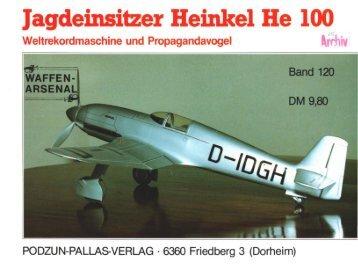 Waffen Arsenal 120 - Jagdeinsitzer He100