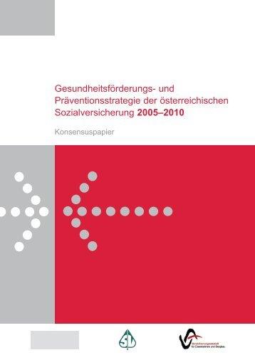 2005–2010 - Martin Sprenger, public health