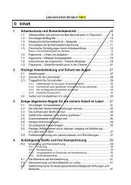 Skriptum Laborsicherheit (Teil 2) - Institut für Organische Chemie ...