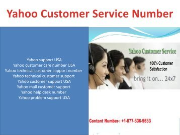 yahoo tech number