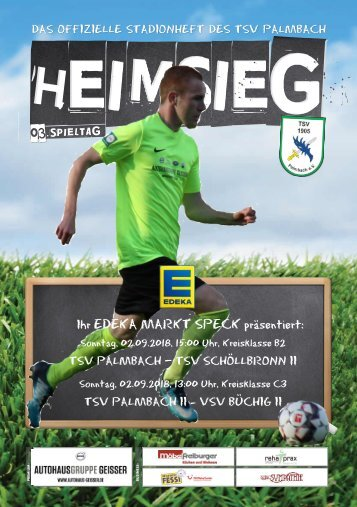 TSV Palmbach Saison 18-19 Heft 2