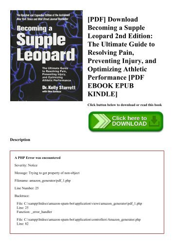 Supple Leopard 2nd Edition Pdf