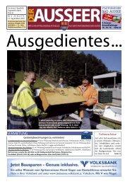 Altstoffsammelzentrum Ausseerland (ASZ) - Bad Aussee
