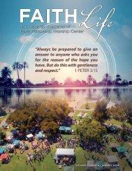 Faith Life Magazine - August 2018