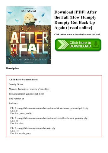 Pdf download after the fall how humpty dumpty got back up again download pdf after the fall how humpty dumpty got back up again fandeluxe Choice Image