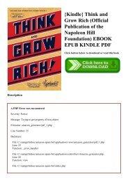 Ebook Napoleon Hill Bahasa Indonesia