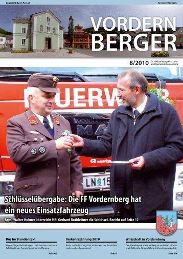 VORDERN BERGER - Marktgemeinde Vordernberg