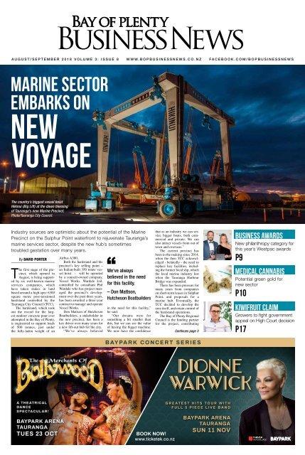 Bay of Plenty Business News August/September 2018