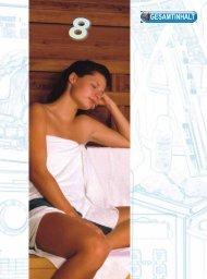 Sauna, Dampfbad, Infrarotkabinen, Solarien und Zubehör