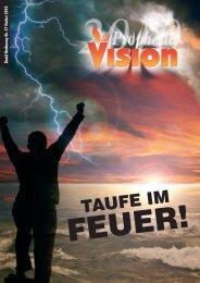 """Propheten""? - David Hathaway / Prophetic Vision / Eurovision"