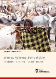 Zwischenbericht (pdf) - Aktion Deutschland Hilft