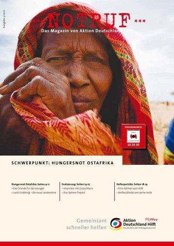 Hungersnot Ostafrika - Aktion Deutschland Hilft