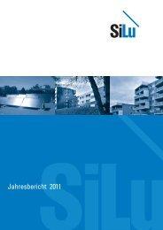 Jahresbericht 2011 - Baugenossenschaft SILU