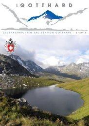 Vortrag «Berge und Kristalle – ein streifzug durch uri - SAC-Gotthard