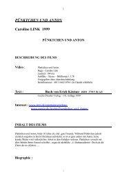 PÜNKTCHEN UND ANTON Caroline LINK 1999 - Académie de ...