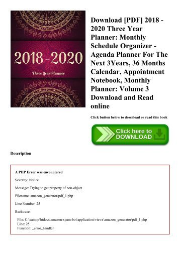 epub kindle 2018 2022 five year planner 2018 2022 monthly schedule