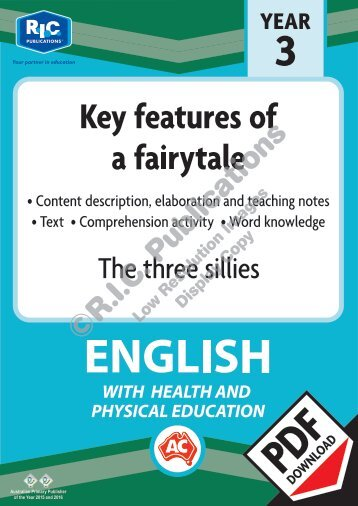 RIC-30045_The_three_sillies_Key_features_of_a_fairytale