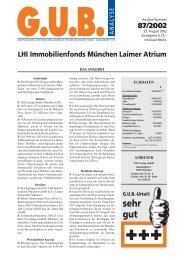 LHI Immobilienfonds München Laimer Atrium