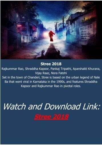stree full movie online filmywap