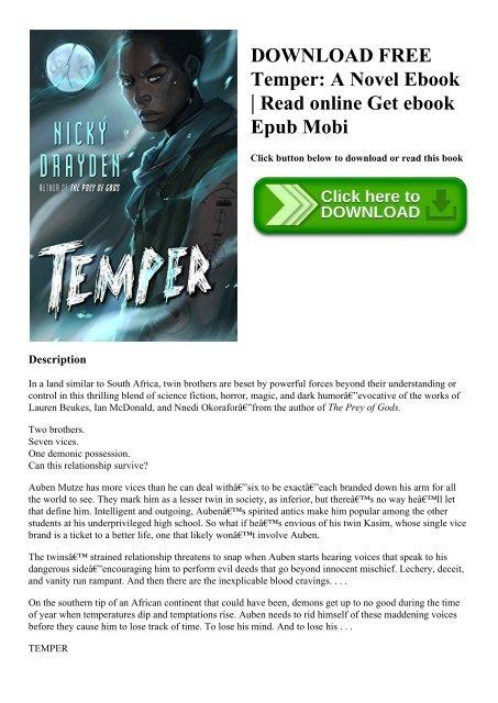 Free download novel epub