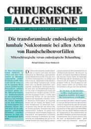 Die transforaminale endoskopische lumbale ... - joimax GmbH