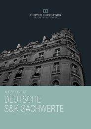 DEUTSCHE S&K SACHWERTE