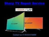 Sharp TV Repair Service at pocket-friendly rates, Call at 0544474009
