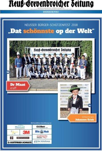 Neusser Bürger-Schützenfest 2018  -28-08-2018-